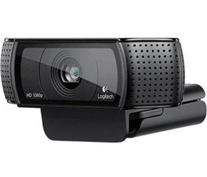 YouTube Shop Logitech C920 HD Pro Webcam Facecam USB schwarz