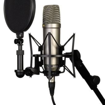 Youtube Shop Rode NT-1A Großmembran Mikrofon für Lets Plays