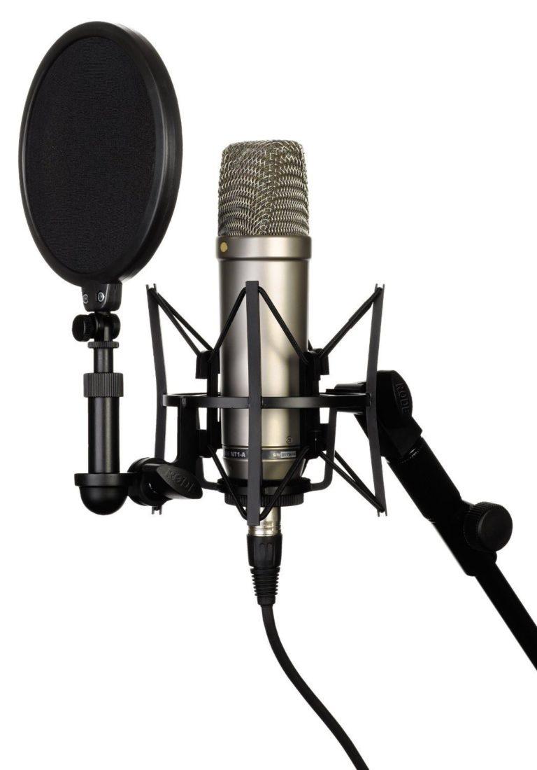 Rode NT-1A Großmembran Mikrofon für Lets Plays