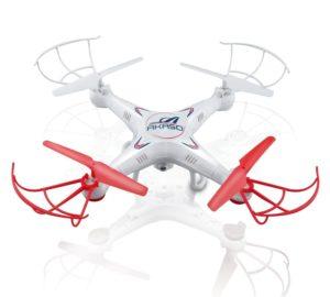AKASO X5C 4 CH 2,4 GHz 6-Achsen Fernbedienung Quadcopter mit HD Kamera und MicroSD Karte - Drohne für YouTube Videos