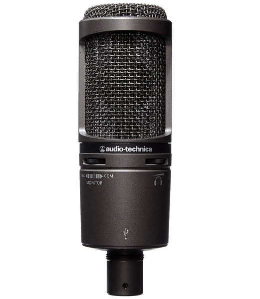 Audio Technica AT2020 USB+ Kondensatormikrofon mit Nierencharakteristik - Let's Play Mikrofon