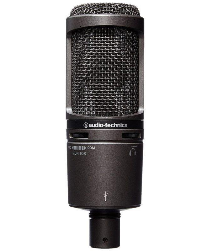 Audio Technica AT2020 USB+ Kondensatormikrofon mit Nierencharakteristik – Let's Play Mikrofon