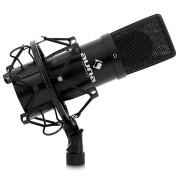 Auna MIC-900B USB Kondensator Mikrofon für Mac und PC inkl. Spinne Podcasts Lets Plays YouTube