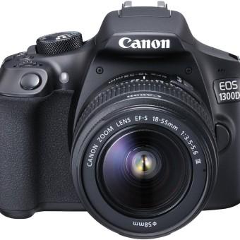Canon EOS 1300D Digitale Spiegelreflexkamera - YouTube Kamera - DSLR YouTube Kameras für YouTuber