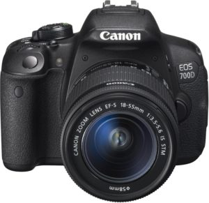 Canon EOS 700D SLR-Digitalkamera - YouTube Kamera - DSLR YouTube Kameras für YouTuber