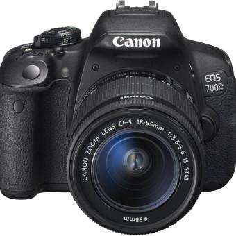 Canon EOS 700D SLR-Digitalkamera - YouTube Kamera - DSLR YouTube Kameras für YouTuber