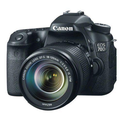 Canon EOS 70D SLR-Digitalkamera – YouTube Kamera für YouTuber