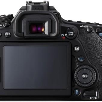 Canon EOS 80D SLR-Digitalkamera – Hinten