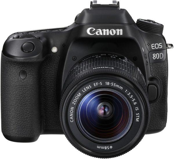 Canon EOS 80D SLR-Digitalkamera – YouTube Kamera für YouTuber