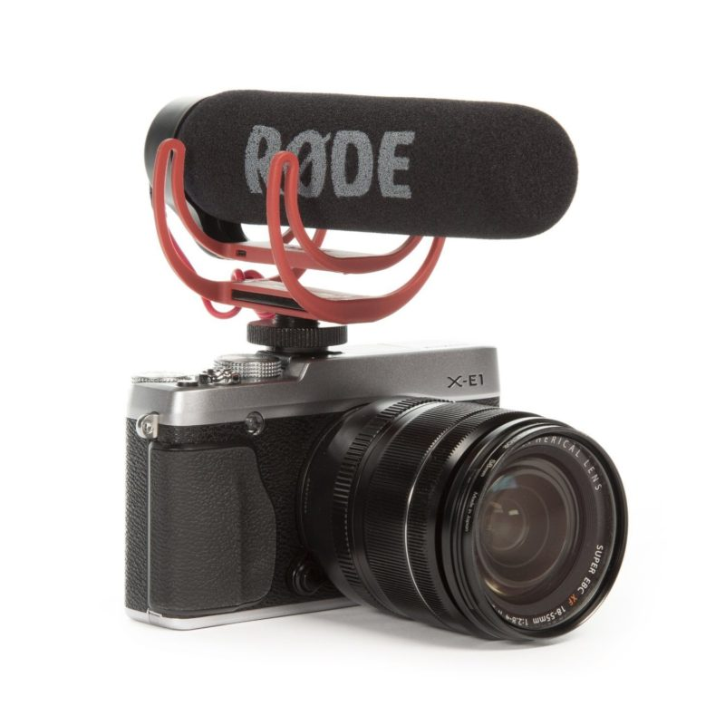 Rode VidMic Go VideoMic Go On-Kamera Mikrofon inkl. Rycote Lyre Halterung Ideales On-Kamera Mikrofon für YouTuber