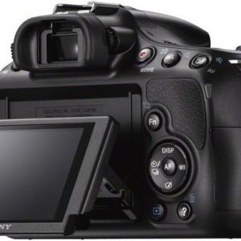 Sony SLT-A58K SLR-Digitalkamera – YouTube Kamera Bildschirm