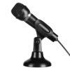 Speedlink Capo Desktop und Hand Mikrofon inkl. Sativ für Podcasts, Let's Plays und Gesang