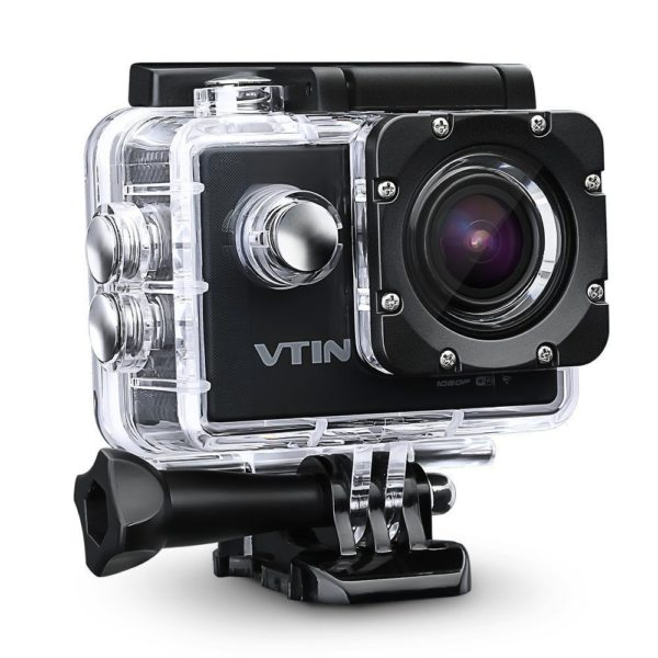 VTIN Full HD Actionkamera Action Cam Wasserdicht - YouTube Kamera GoPro Alternative