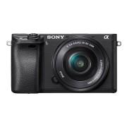 YouTuber Kamera Sony Alpha 6300 E-Mount Systemkamera (24 Megapixel, 7,5 cm (3 Zoll) Display, XGA OLED Sucher) L-Kit (16-50mm Objektiv) schwarz für YouTube a6300 4k 120fps