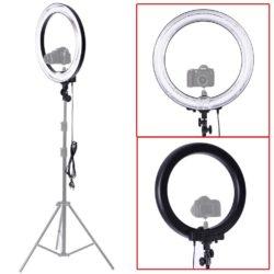 Neewer Professionelle Kamera Video Ringleuchte Ringlicht 18