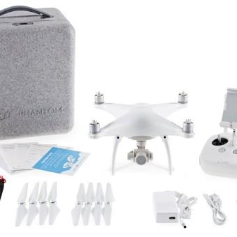 DJI P4 Phantom 4 Kamera weiß 4k Drohne für YouTube Videos 4