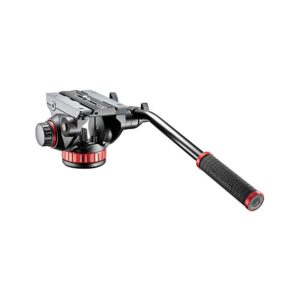 Manfrotto MVH502AH Pro Fluid Video Neiger Head für Stativ für YouTuber YouTube