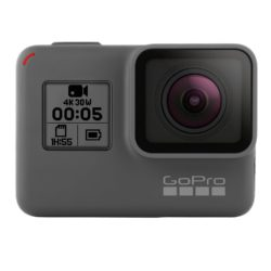GoPro HERO 5 Black Action Kamera Cam schwarz grau für YouTube Videos YouTuber Profi Sport