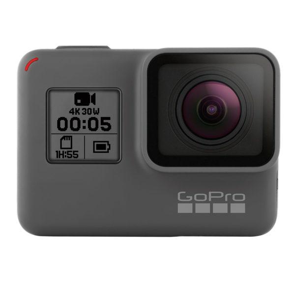GoPro HERO 5 Black Action Kamera Cam schwarz grau für YouTube Videos YouTuber Profi Sport