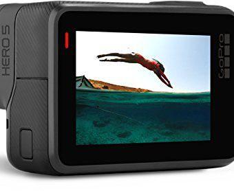GoPro HERO 5 Black Action Kamera Cam schwarz grau für YouTube Videos YouTuber Profi Sport 2