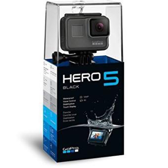 GoPro HERO 5 Black Action Kamera Cam schwarz grau für YouTube Videos YouTuber Profi Sport 3