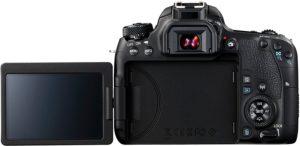 Canon EOS 77D SLR-Digitalkamera (24,2 MP, 7,7 cm (3 Zoll) Display, APS-C CMOS Sensor, Full HD) schwarz