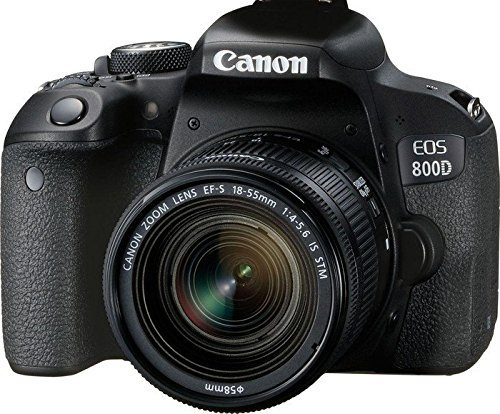 Canon EOS 800D DSLR Kamera für YouTube Videos insbesondere Vlogs