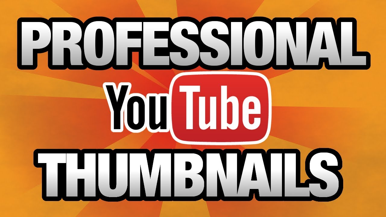 gute Professionelle Thumbnails für YouTube erstellen Videos Lets Play Plays Vlogs