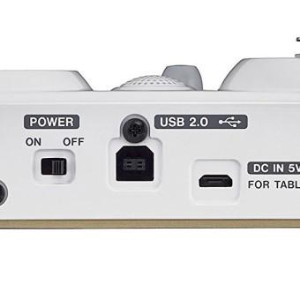 Tascam US32 Mini Audiointerface, Mischpult für Podcasts, Livestrams und YouTube