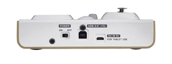 Tascam US32 Mini Audiointerface Mischpult für Podcasts Livestrams und YouTube