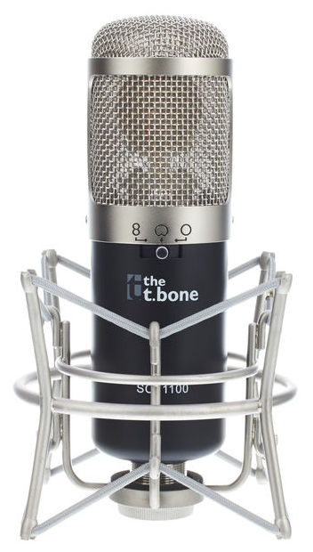 the t.bone SC 1100 Großmembran Mikrofon für Lets Plays und YouTube Videos