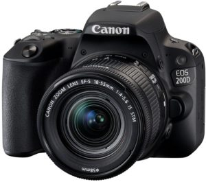 Canon EOS 200D SLR-Digitalkamera Full HD 60 FPS YouTube Kamera 1