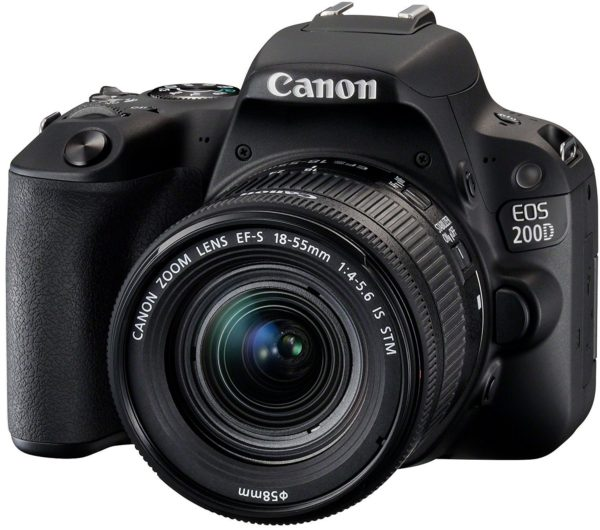 Canon EOS 200D SLR-Digitalkamera Full HD 60 FPS YouTube Kamera 1