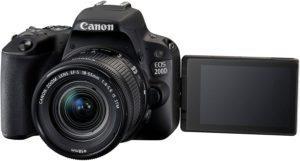Canon EOS 200D SLR-Digitalkamera Full HD 60 FPS YouTube Kamera 2