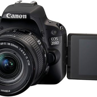 Canon EOS 200D SLR-Digitalkamera Full HD 60 FPS YouTube Kamera 2