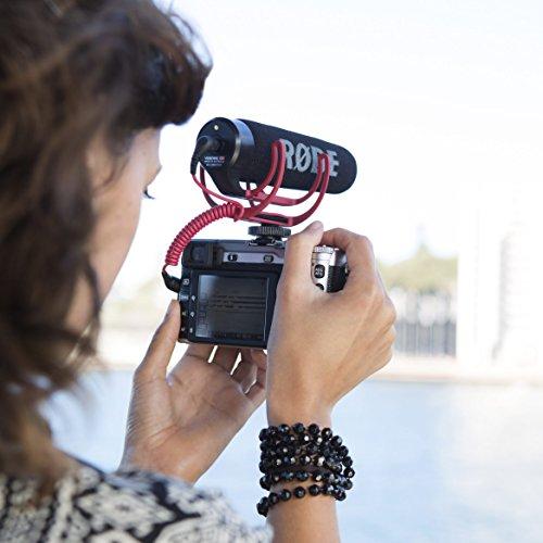 Kamera Blitzschuh Halterung mit Rycote Lyre Halterung für Rode VideoMicro